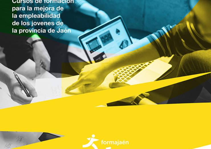 Form@Jaén: Formación para mejorar la empleabilidad de los jóvenes